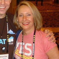 Photo of Rosalind Gardner owner of Affiliate Blogger Pro. Affiliate Blogger Pro is not a scam, but it is outdated.