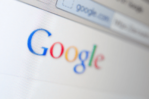 Google logo symbolizing how Wealthy Affiliate works with search engines to harness their power. http://ScamAvenger.com