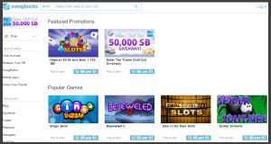 SwagBucks Games landing page.