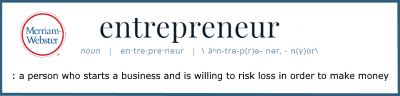 Definition of Entrepreneur