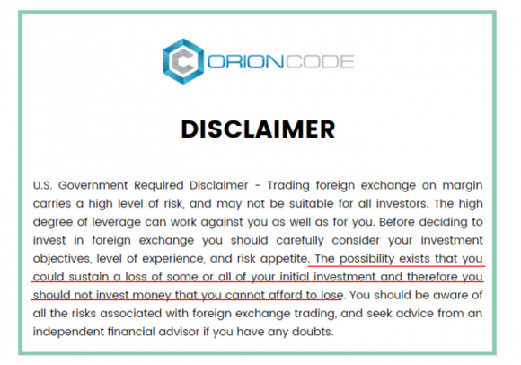 is the orion code a scam