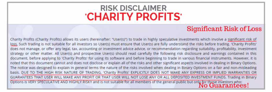 what is charity profits app