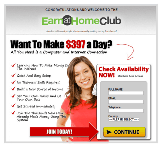 The Earn at Home Club