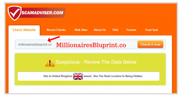 What is Millionaire Blueprint? Is Millionaire Blueprint a Scam?