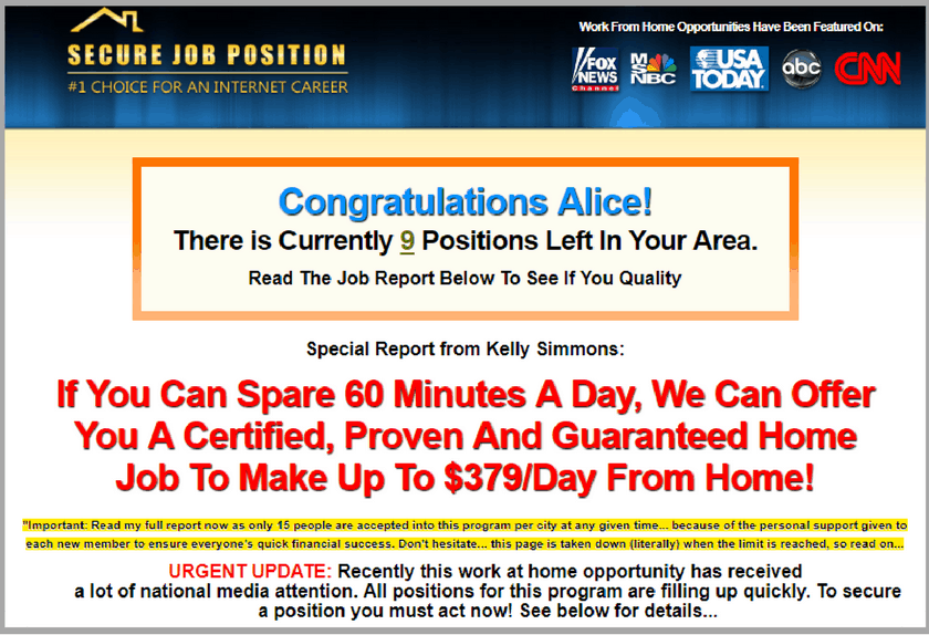 Home Job Source. Is Home Job Source a Scam? |