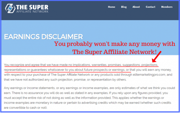 What is The Super Affiliate Network?