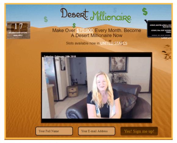 Is Desert Millionaire a Scam?