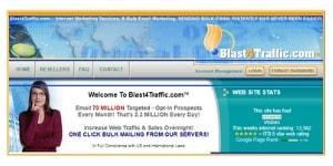 Blast4Traffic website
