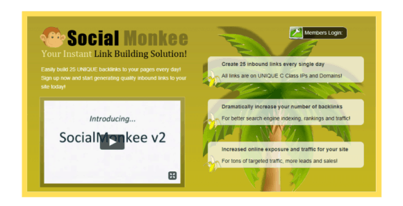 Social Monkee Website