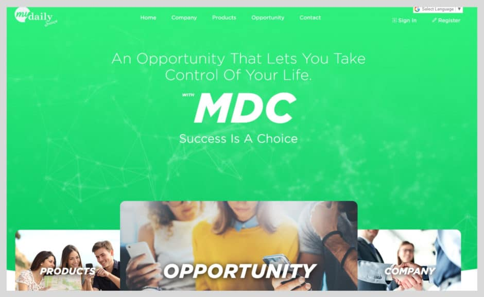 My Daily Choice Website