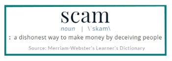 Now Scam Definition
