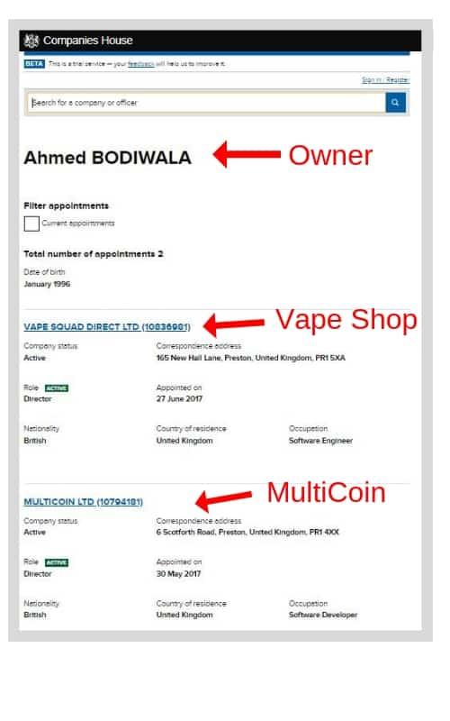 Multicoinbank Scam
