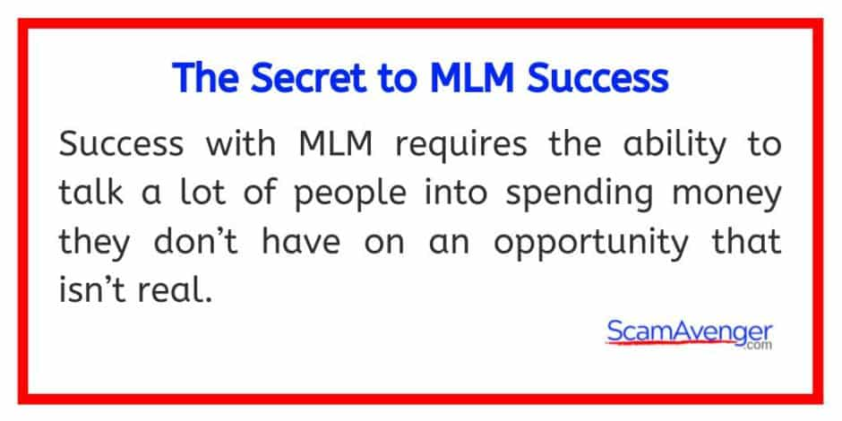 Shaklee the secret to MLM