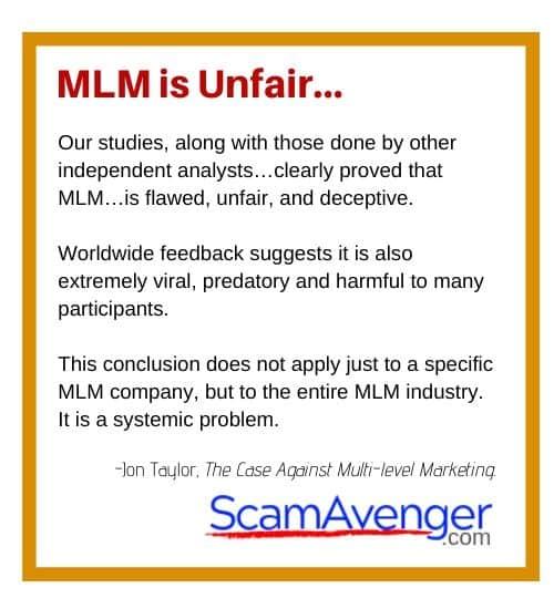 Zurvita MLM is Unfair...