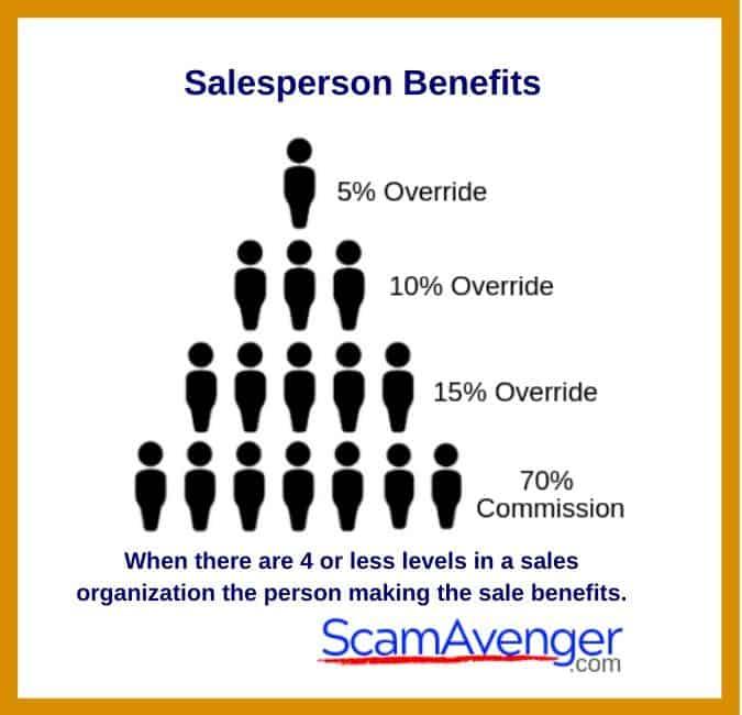 Zurvita Salesperson Benefits