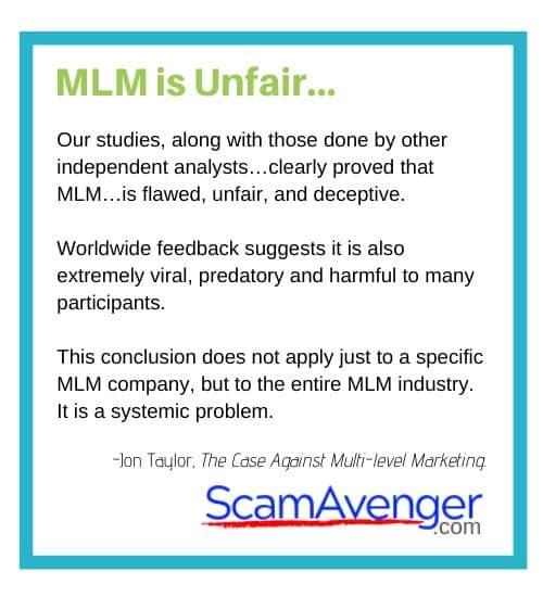 Sanki Global MLM is Unfair