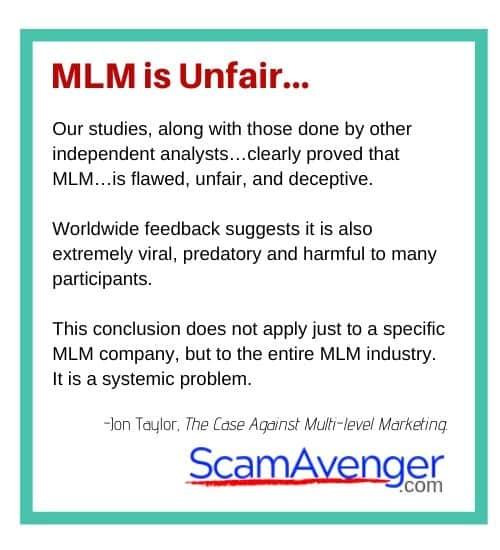 Xyngular MLM is Unfair...