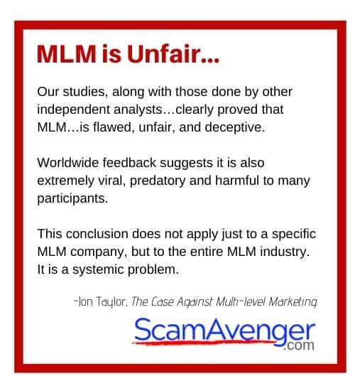 Zrii MLM is Unfair...