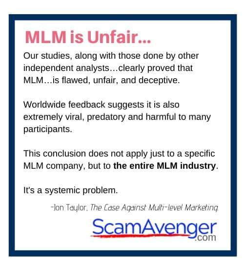 PartyLite MLM is Unfair