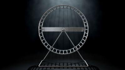 SwissJust Hamster Wheel of Death