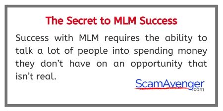 Touchstone Crystal Secret to MLM Success