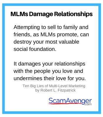 Traci Lynn MLM damage relationships