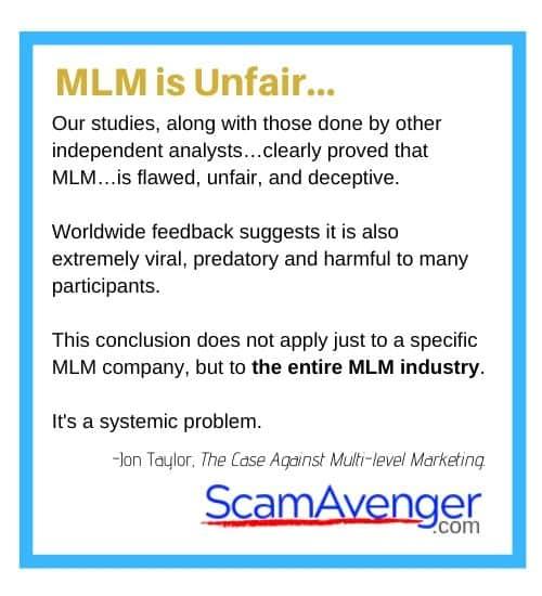 Traci Lynn MLM is Unfair (2)