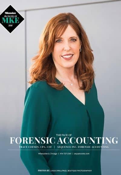 Tracy Coenen Magazine Cover