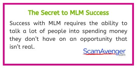 WineShop at Home Secret to MLM Success
