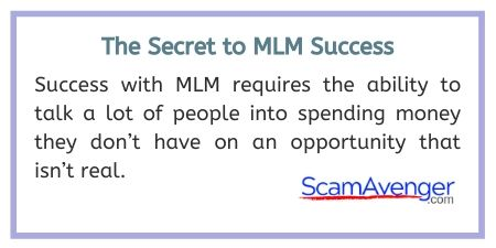 Sabika Secret to MLM Success